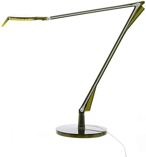 Kartell Aledin TEC, lampa stołowa, ze ściemniaczem, zielona