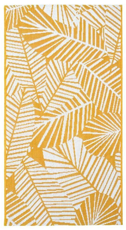 Dywan zewnętrzny Haiti żółty 80 x 150 cm