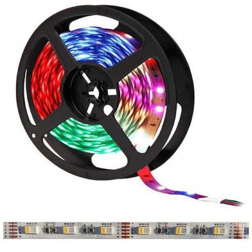 Taśma LED 300SMD5050 RGBCW IP20 RGB + biała zimna - 1 metr