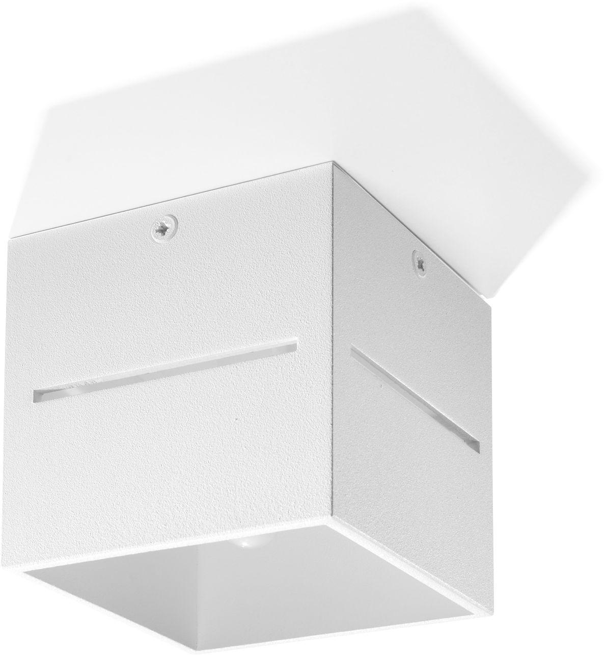 Plafon LOBO Biały - Sollux