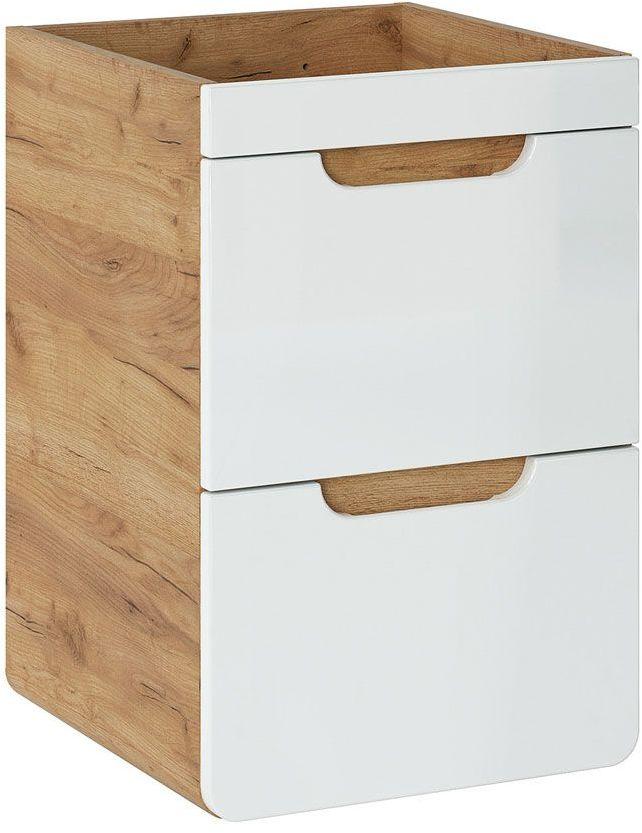 Szafka pod umywalkę z szufladami Borneo 11X - Biały