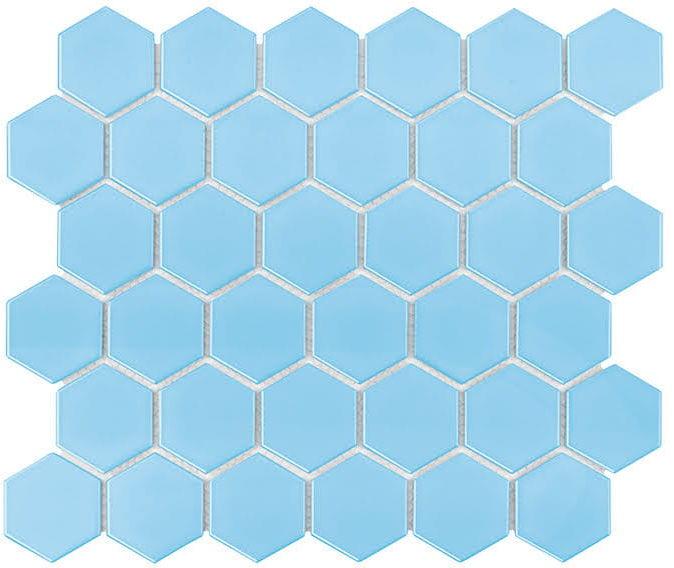 DUNIN mozaika ceramiczna Hexagon Montana 51 Matt