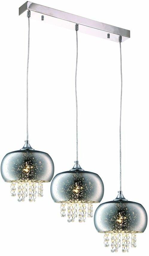 Lampa wisząca STARLIGHT kryształ 3XE14 ML3787 Milagro  Skorzystaj z kuponu -10% -KOD: OKAZJA