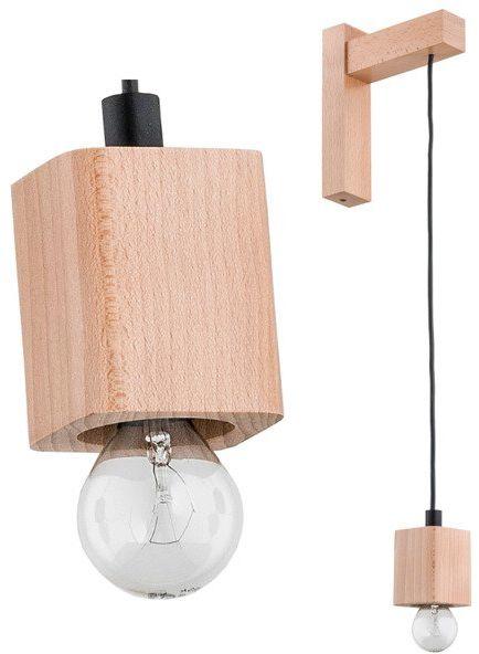 Lampa ścienna Fibia śr. 6cm w stylu nowoczesnym
