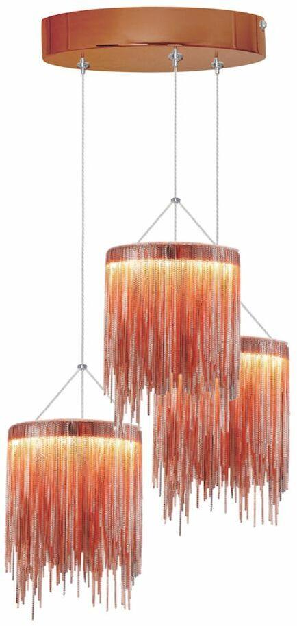 Lampa wisząca CASCATA COOPER 54W LED ML3800 Milagro  Skorzystaj z kuponu -10% -KOD: OKAZJA