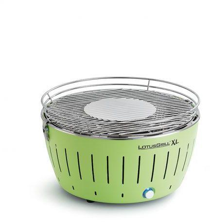 Grill bezdymny LotusGrill XL  zielony + torba. WYSYŁKA + 2.5KG WĘGLA GRATIS. 14 dni na ZWROT!