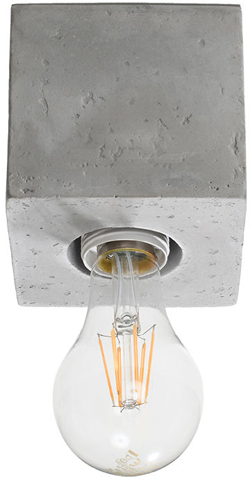 Plafon ABEL beton - Sollux