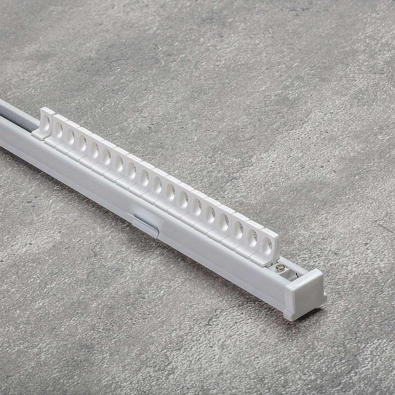 Komplet- szyna przysufitowa aluminiowa TS pojedyncza 180cm, 180 cm