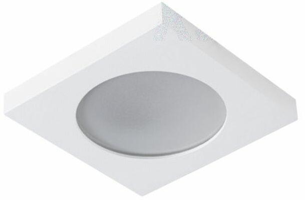 Oprawa punktowa FLINI IP44 DSL-W biała kwadratowa 33121