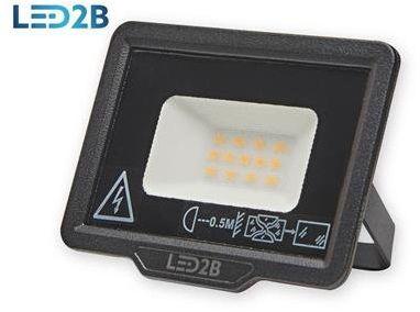 Oprawa LED MH 10W CZARNA barwa NEUTRALNA LED2B