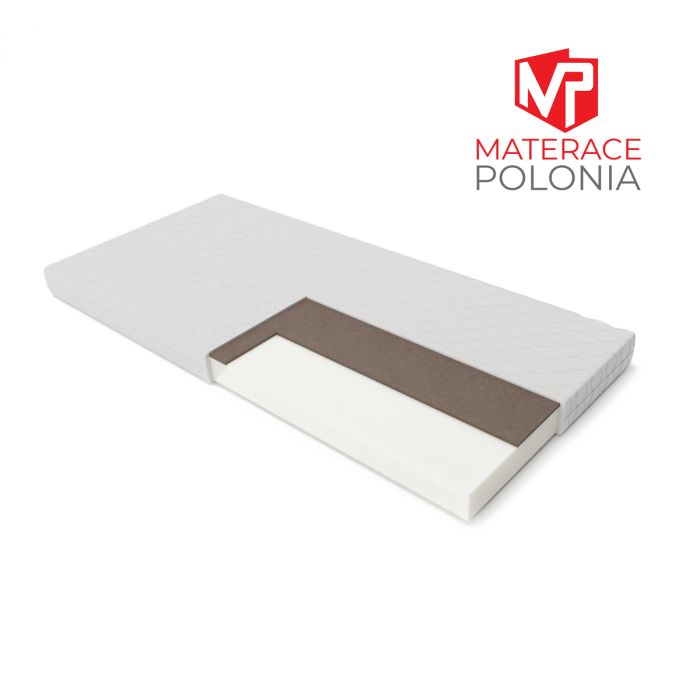 materac piankowy RYCERSKI MateracePolonia 160x200 H3 + 2 lat gwarancji