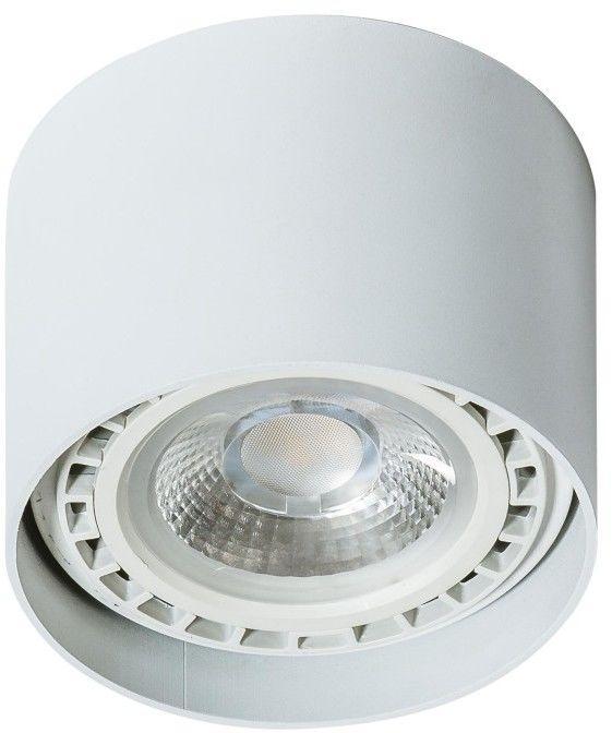 Eco Alix 230V lampa sufitowa 1-punktowa biała AZ1836