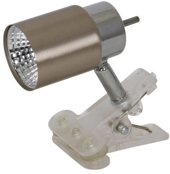 Lampka LED Colours Hades Clip 3000 K 220 lm satyna