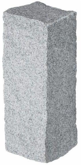 Palisada granitowa 10 x 10 x 25 cm szara