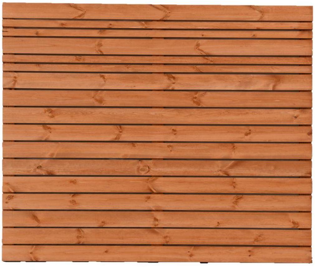 Płot ażurowy 180x150 cm drewniany GOTEBORG wiśnia WERTH-HOLZ