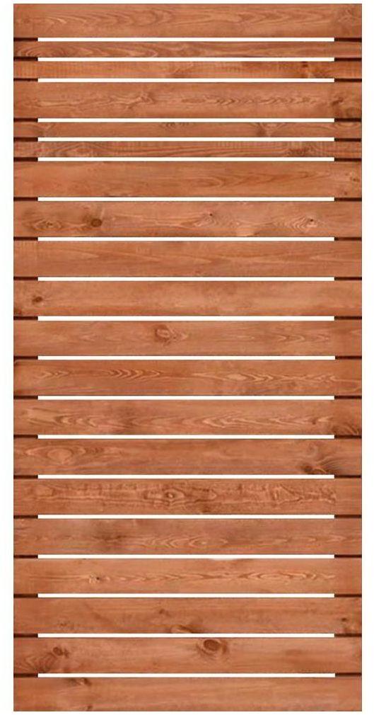 Płot ażurowy 90x180 cm drewniany GOTEBORG wiśnia WERTH-HOLZ
