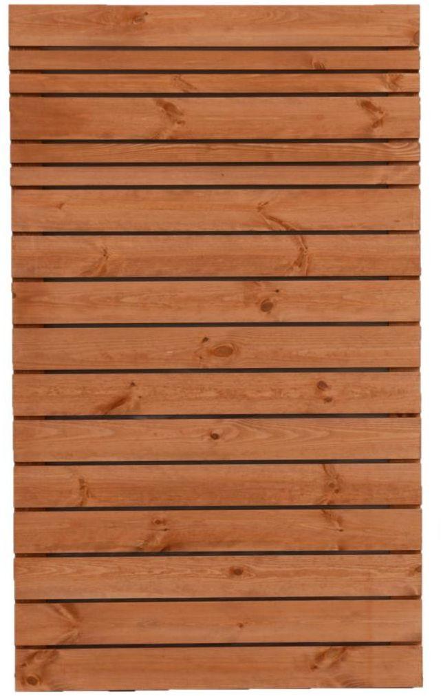 Płot ażurowy 90x150 cm drewniany GOTEBORG wiśnia WERTH-HOLZ