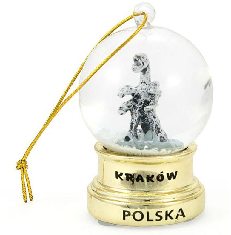 Kula śniegowa Kraków Złota Wisząca 45 mm