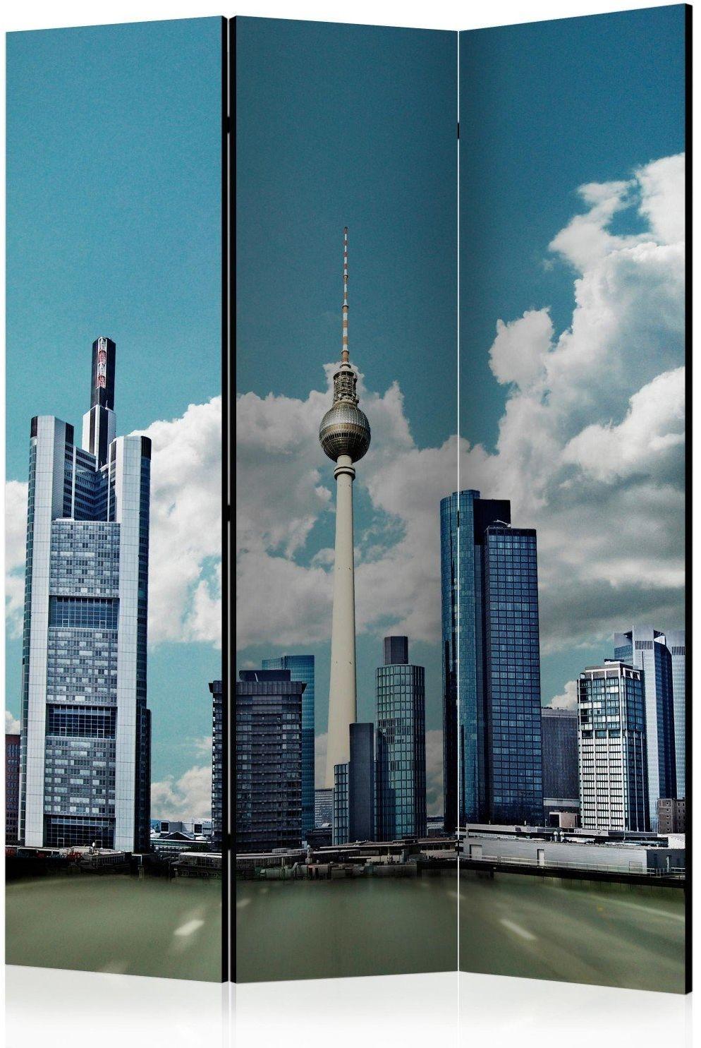 Parawan 3-częściowy - berlin [room dividers]