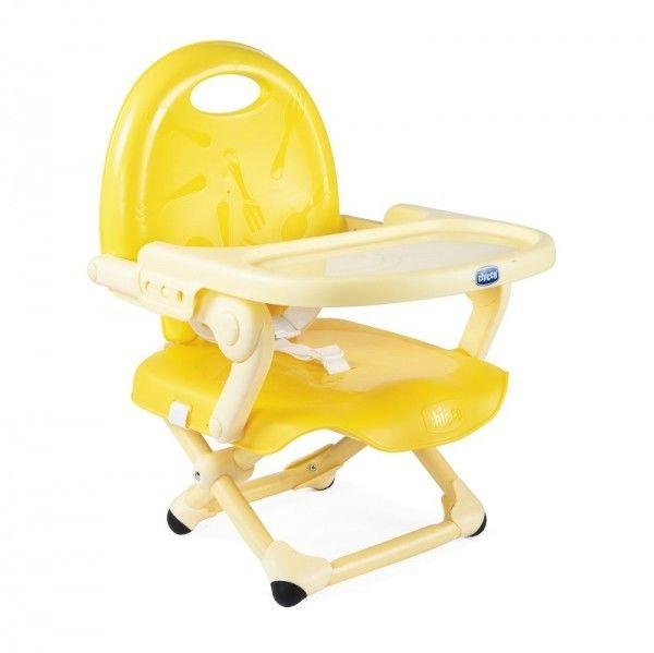 Chicco Pocket Snack krzesełko turystyczne kompaktowe żółte