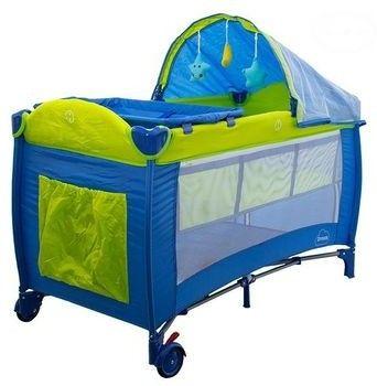Łóżeczko podr. dream niebieski
