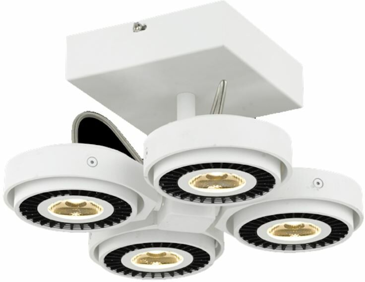 Oprawa sufitowa TECHNO 40W LED ML3839 Milagro  Skorzystaj z kuponu -10% -KOD: OKAZJA