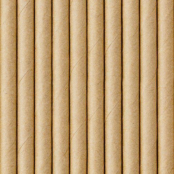 Słomki papierowe kraft 250 sztuk SPP9-031-250