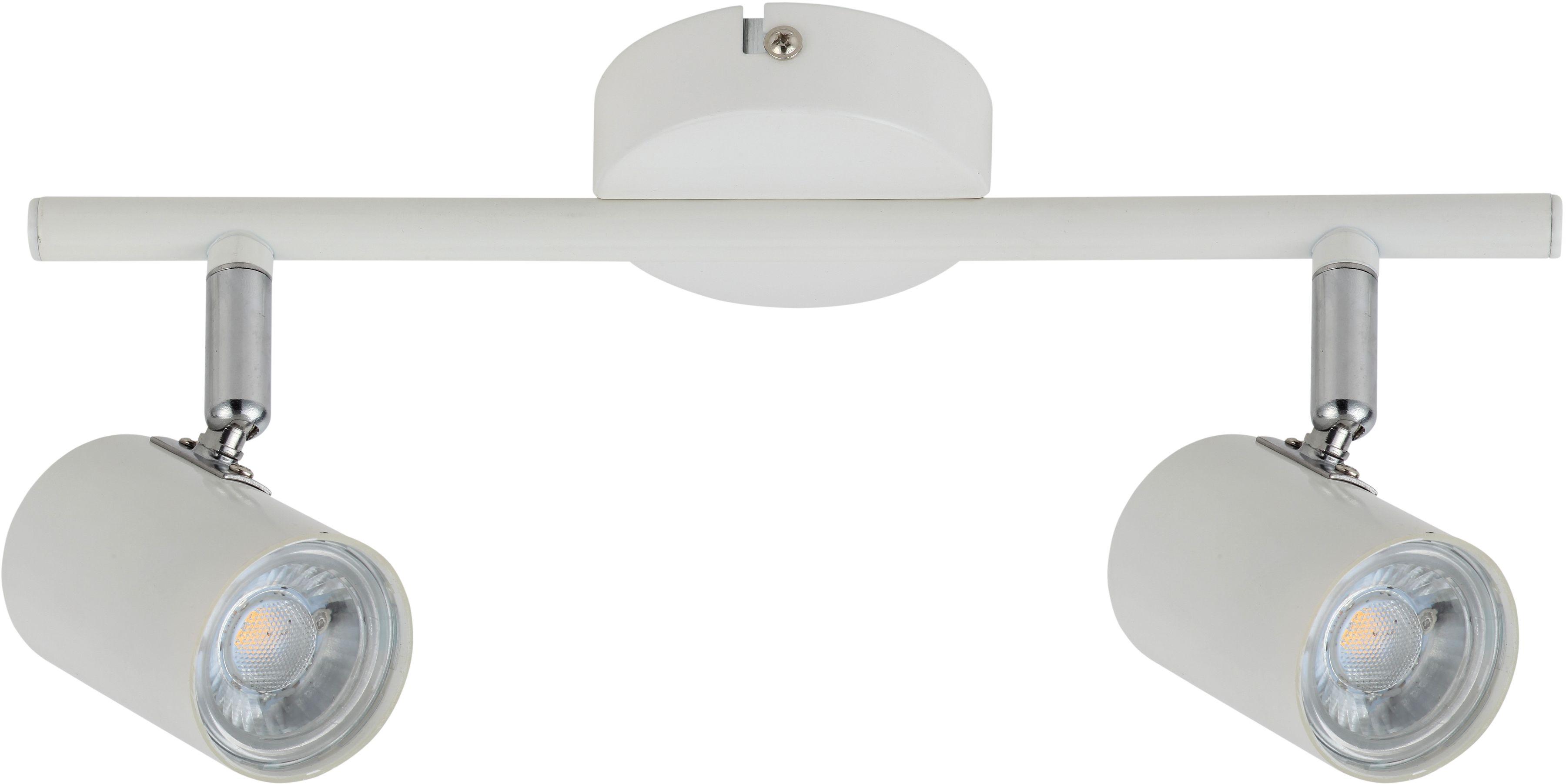 Candellux HALLEY 92-49537 oprawa oświetleniowa spot biały 2X4W LED 30cm