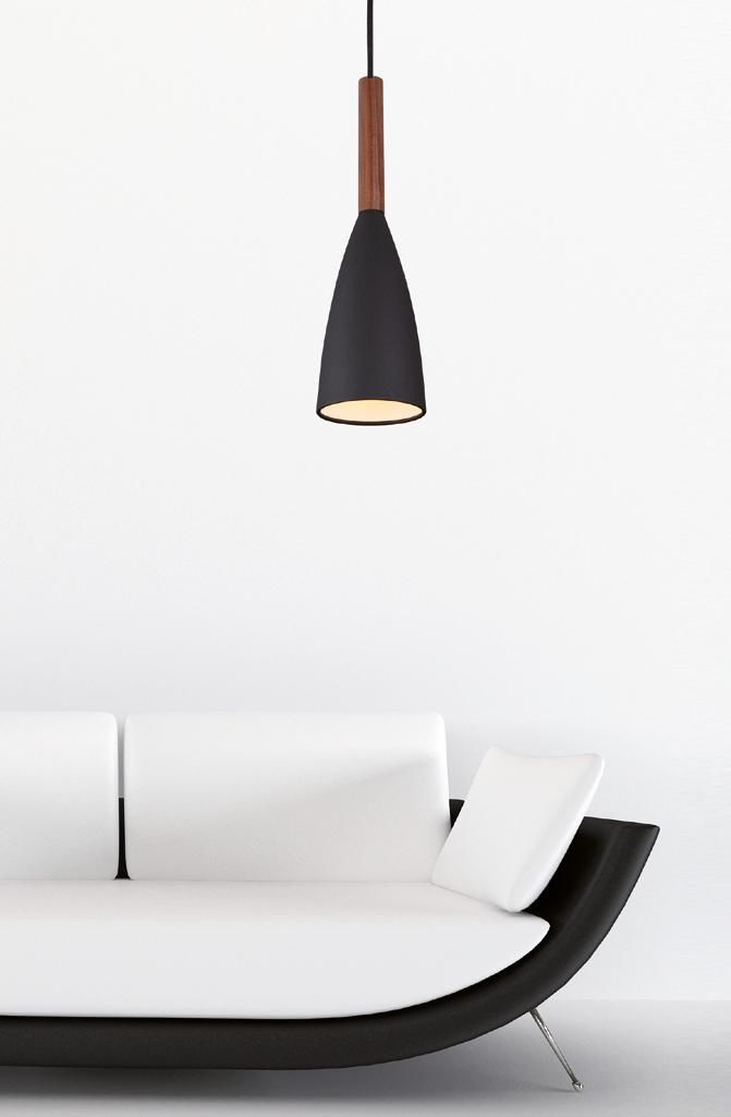 Lampa wisząca Soft P0146 BK Maxlight