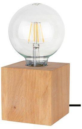Lampa stołowa theo 1-punktowa koloru dąb olejowany 7179174
