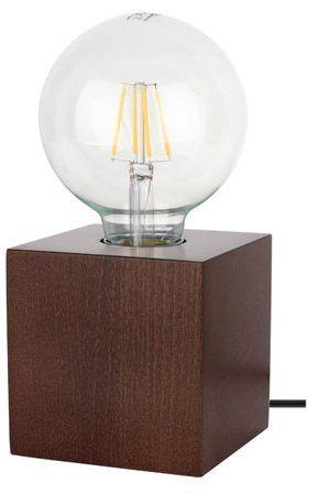 Lampa stołowa theo 1-punktowa buk orzech 7179176