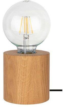 Lampa stołowa TRONGO 1-punktowa dąb olejowany 7079174