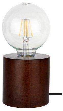 Lampa stołowa TRONGO 1-punktowa buk kolor orzech 7079176