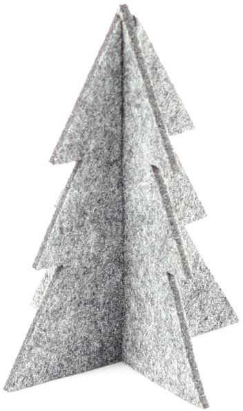 Choinka z filcu na Boże Narodzenie - 13 cm