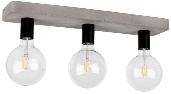 Lampa sufitowa FORTAN 3-punktowa o podstawie betonowej 8254336