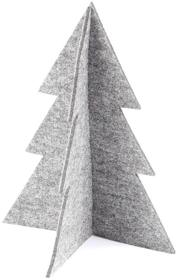 Choinka z filcu na Boże Narodzenie - 22 cm