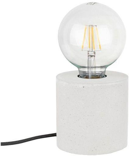 Lampa stołowa STRONG 1-punktowa lampa o białej betonowej podstawie 6070937