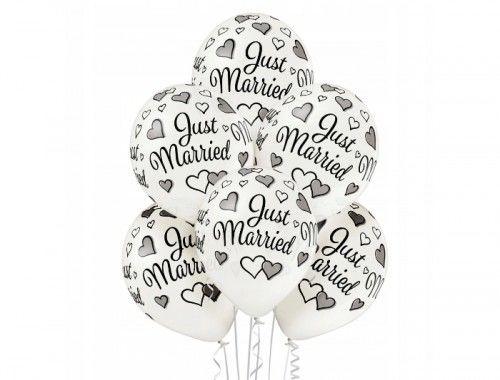 Balon na ślub Just Married