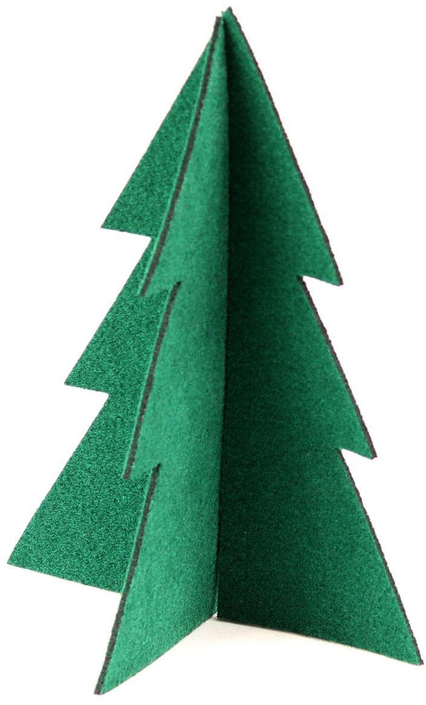 Choinka z filcu na Boże Narodzenie - 30 cm