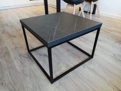 Elegancki stolik kawowy STILO1 Wytrawny szary kamień