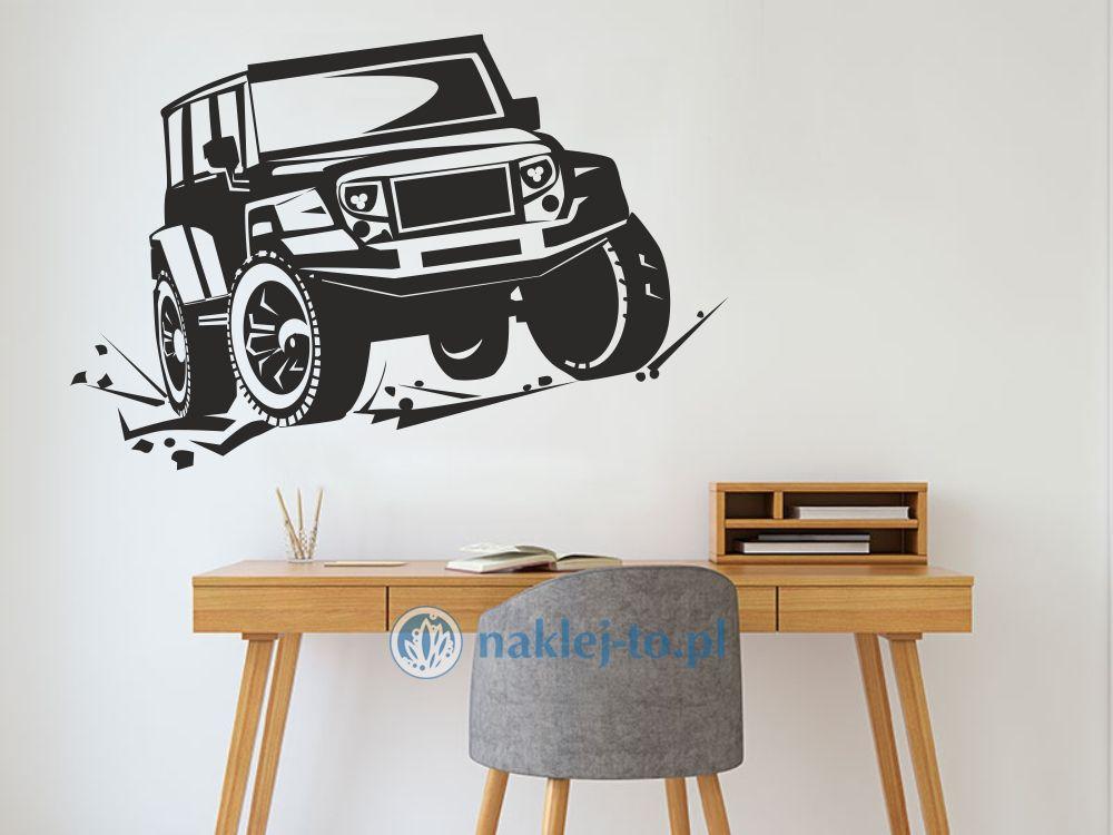 naklejka Jeep naklejka na ścianę