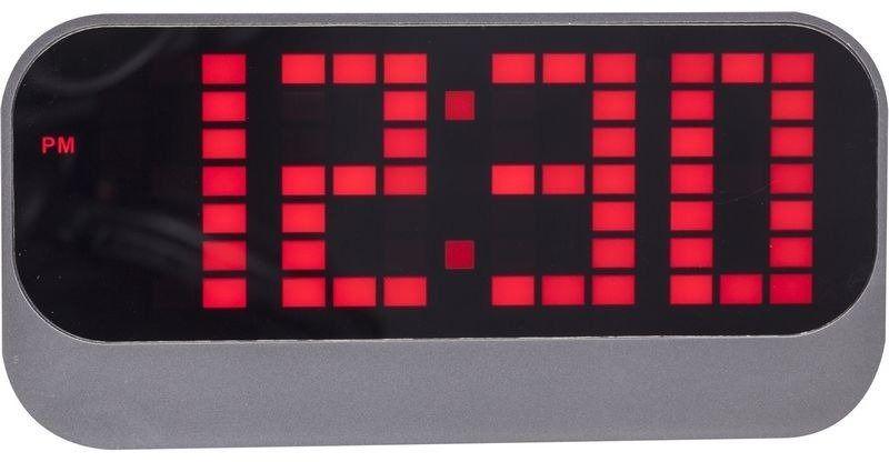 Nextime - zegar stojący loud alarm - czerwony