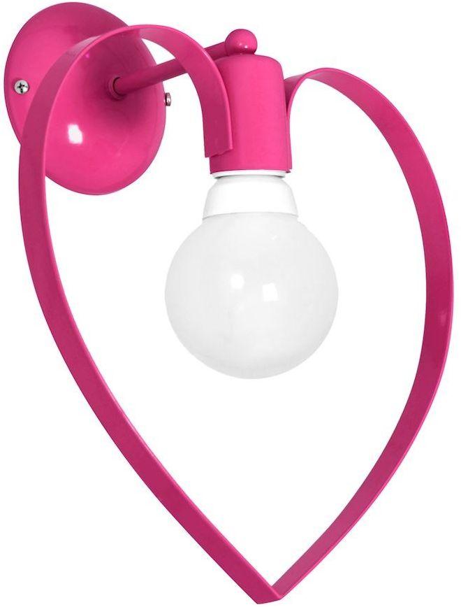 Kinkiet Amore 1 Różowy MLP9955 - Milagro Do -17% rabatu w koszyku i darmowa dostawa od 299zł !