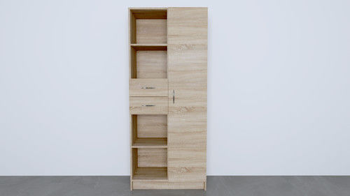 Szafa pół-otwarta, pół zamknięta+ szuflady A-06 190/80/40