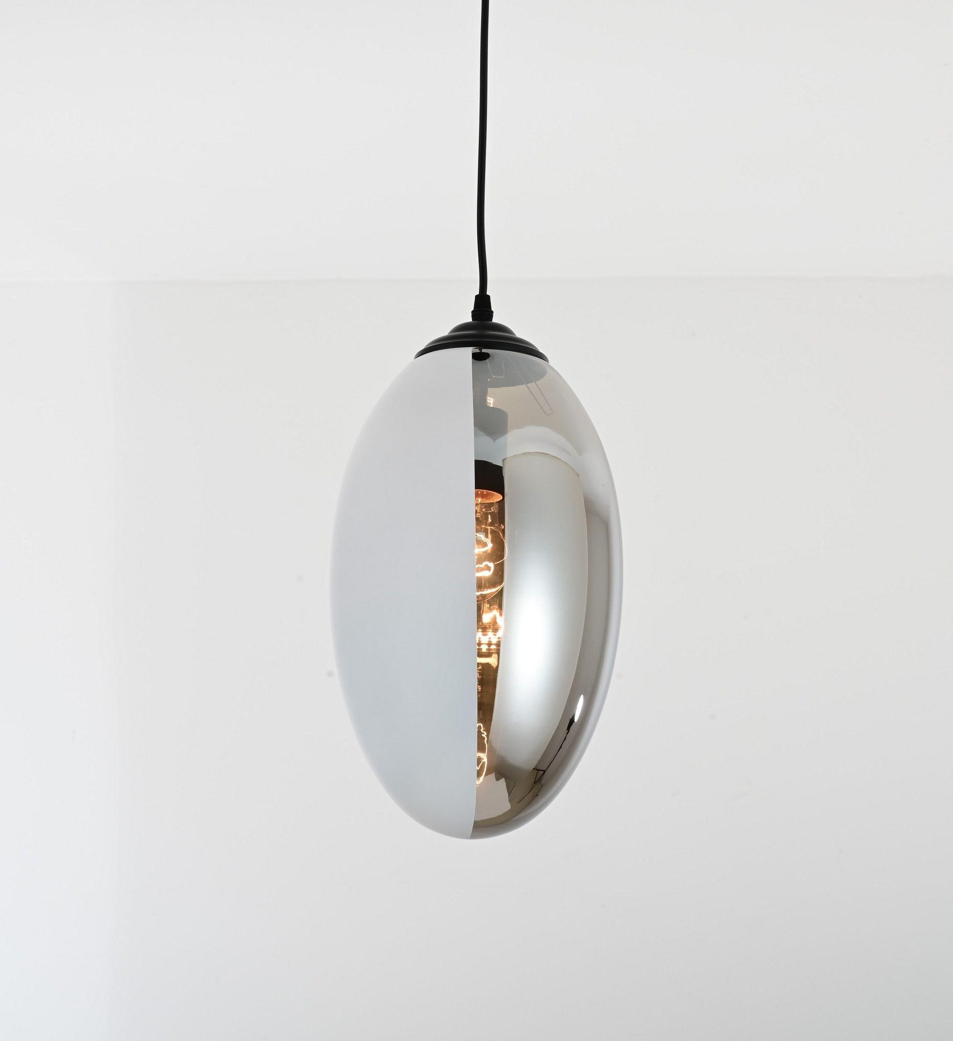 NOWOCZESNA LAMPA WISZĄCA LOFT BIAŁA DYMIONA CARLTON