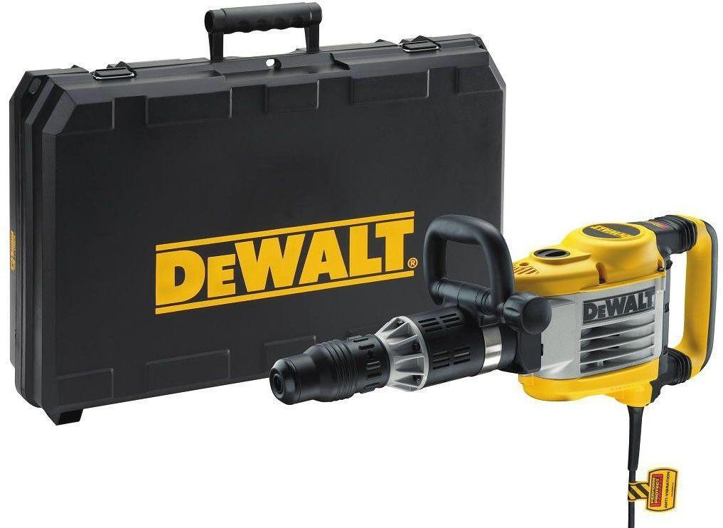 DeWalt młot wyburzeniowy 1550W/19J, mocowanie SDS-Max, [D25902K] D25902K-QS