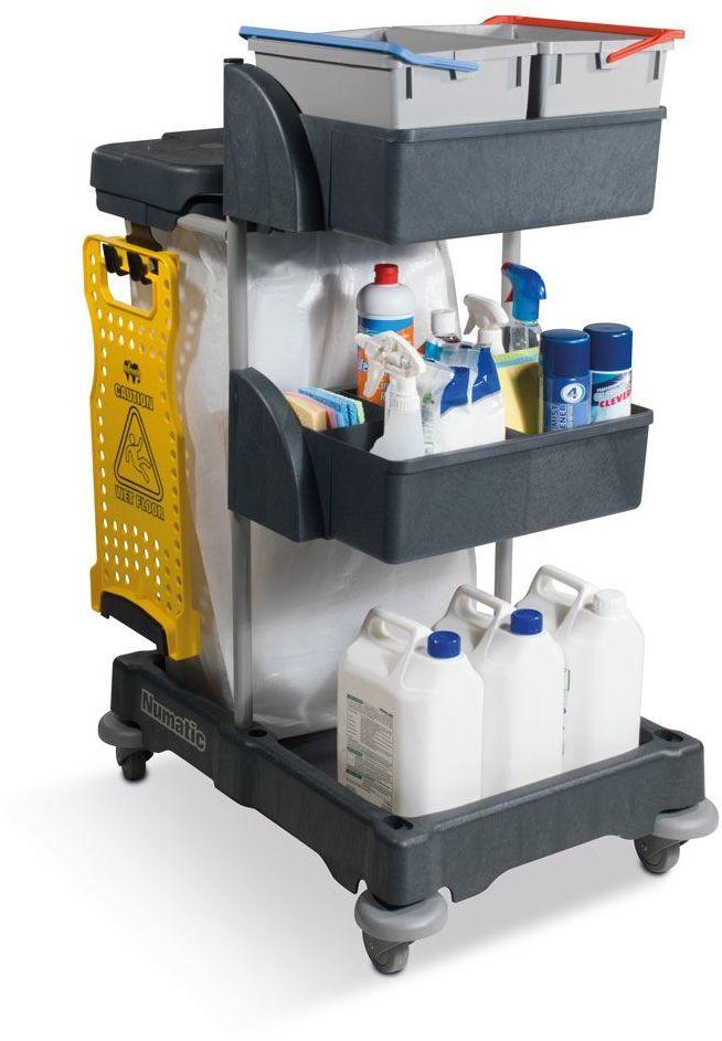 Numatic XCG 3 - wózek serwisowy do sprzątania