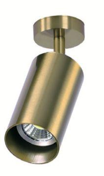Brass Tube Reflektor Sufitowy Spot Kinkiet