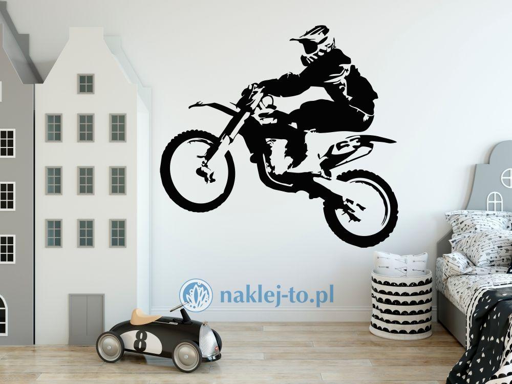 naklejka na ścianę Motocross 4 naklejka na ścianę