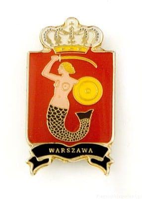 Herb Warszawa - magnes